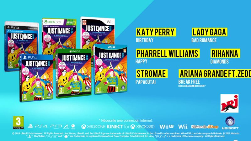 Just Dance 15 .::. Ubisoft