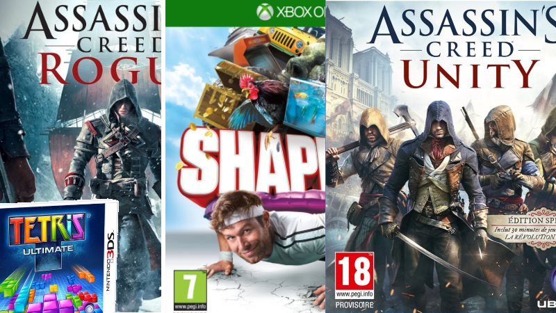 Sorties Ubisoft semaine du 11 novembre 2014