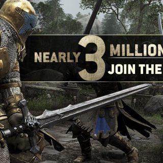 For Honor 3 millions - Ubisoft