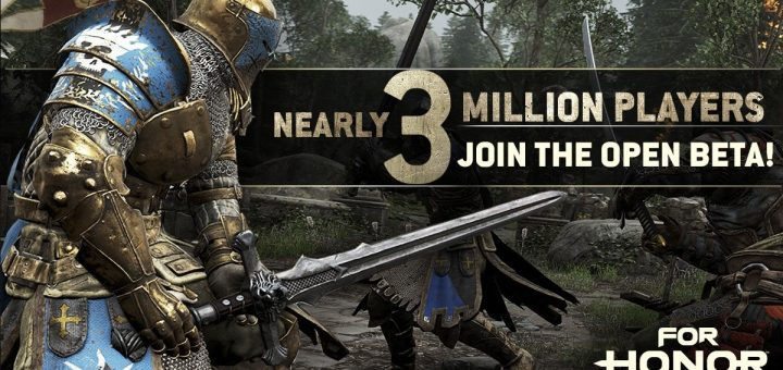 For Honor 3 millions - Ubisoft