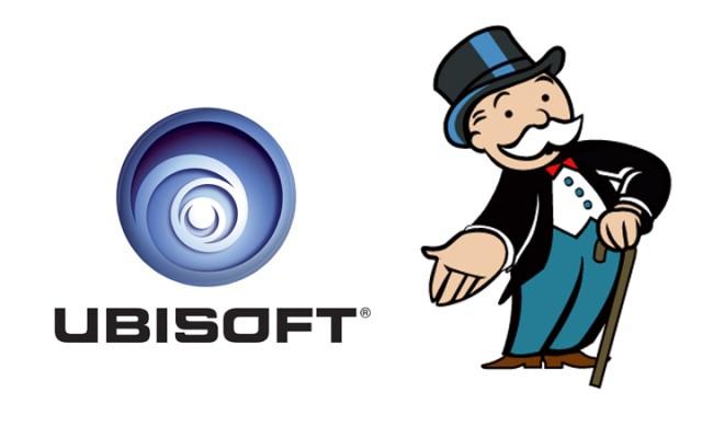 Logo Ubisoft - Monopoly :: Ubisoft / Hasbro