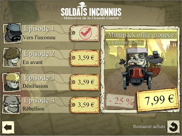 Soldats Inconnus :: Ubisoft
