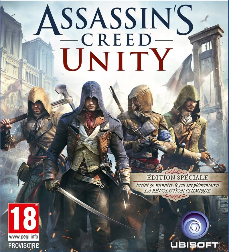 Jaquette générique Assassin's Creed Unity .::. Ubisoft